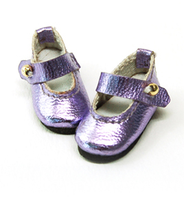 """Strap shoes pearl violet  30mm"" of the ""GLIB"", main image."