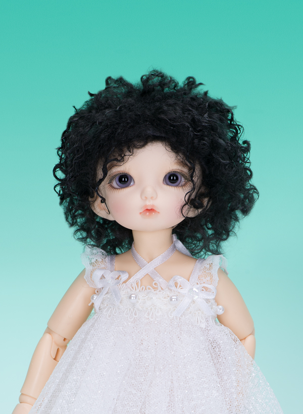 "A thumbnail of ""LFW-28 Black(Mohair) for LittleFee"""