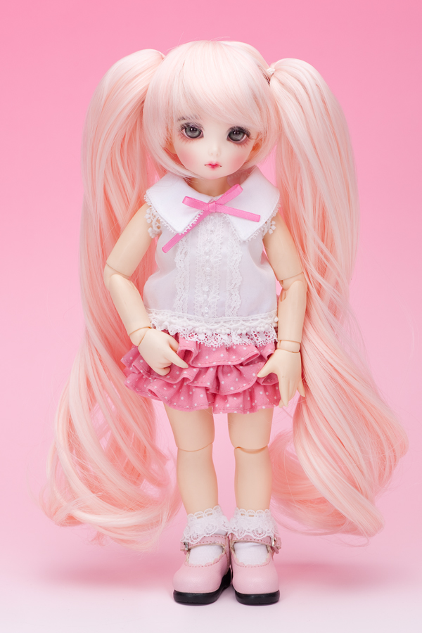 "A thumbnail of ""LFW-27 White Pink for LittleFee"""