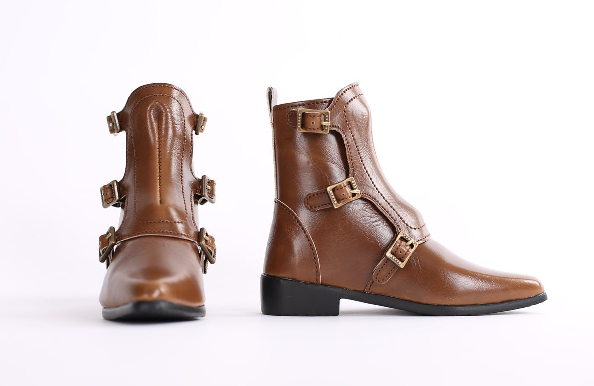 """SD_Strap Boots (Brown)"" of the ""SartoriaJ"", image 2."