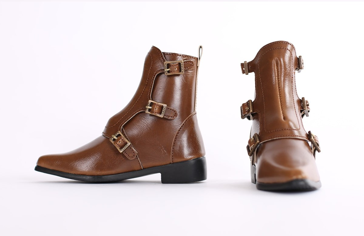 """SD_Strap Boots (Brown)"" of the ""SartoriaJ"", image 3."