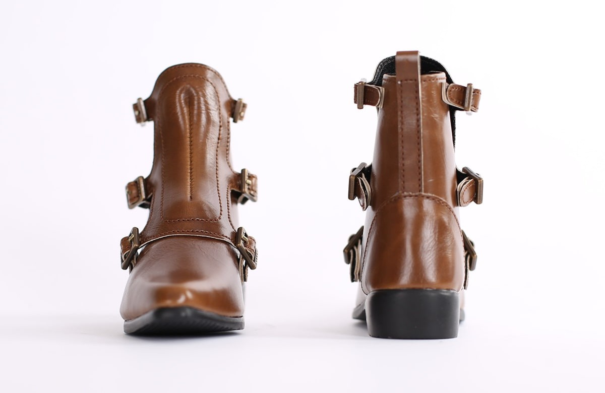 """SD_Strap Boots (Brown)"" of the ""SartoriaJ"", image 4."