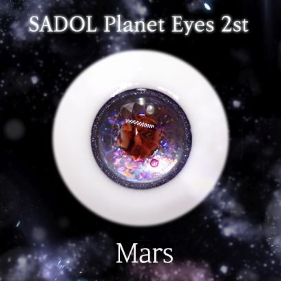 "A thumbnail of ""[Instant Delivery] SADOL Eyes [Mars] -14mm"""