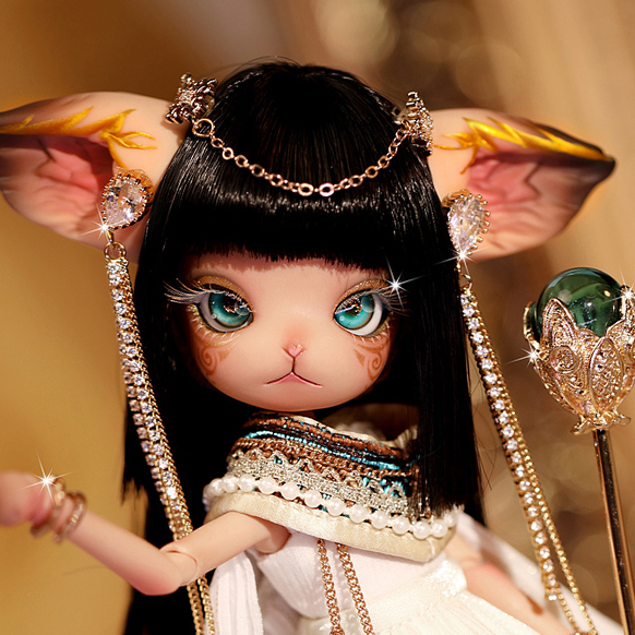"A thumbnail of ""[DOLK x DOLL ZONE] Miss Kitty Cleopatra 