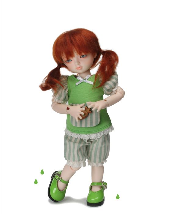 """Dear Doll Size - Basic Girl Shoes (Green Enamel)"" of the ""DOLL MORE"", image 2."