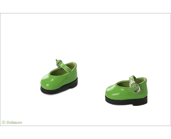 """Dear Doll Size - Basic Girl Shoes (Green Enamel)"" of the ""DOLL MORE"", image 3."