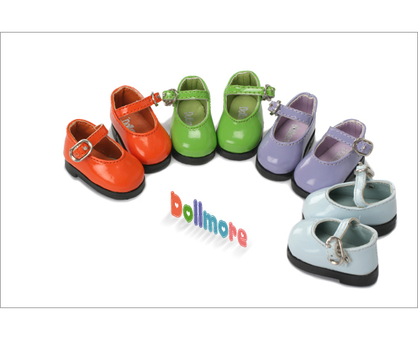 """Dear Doll Size - Basic Girl Shoes (Green Enamel)"" of the ""DOLL MORE"", image 5."