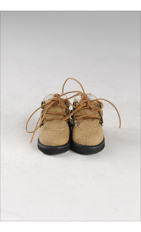 """MSD - Messo Shoes (Brown)"" of the ""DOLL MORE"", image 3."