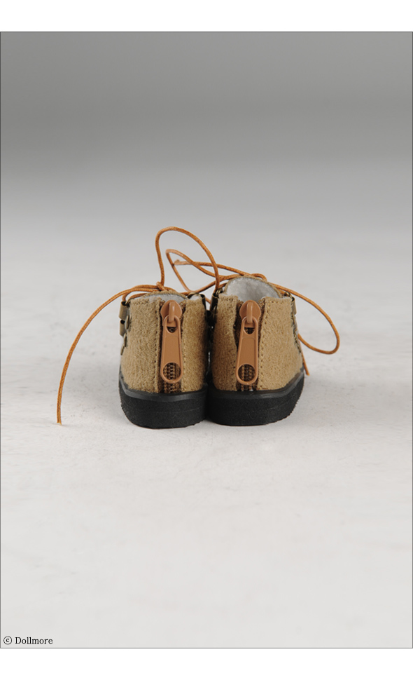 """MSD - Messo Shoes (Brown)"" of the ""DOLL MORE"", image 4."