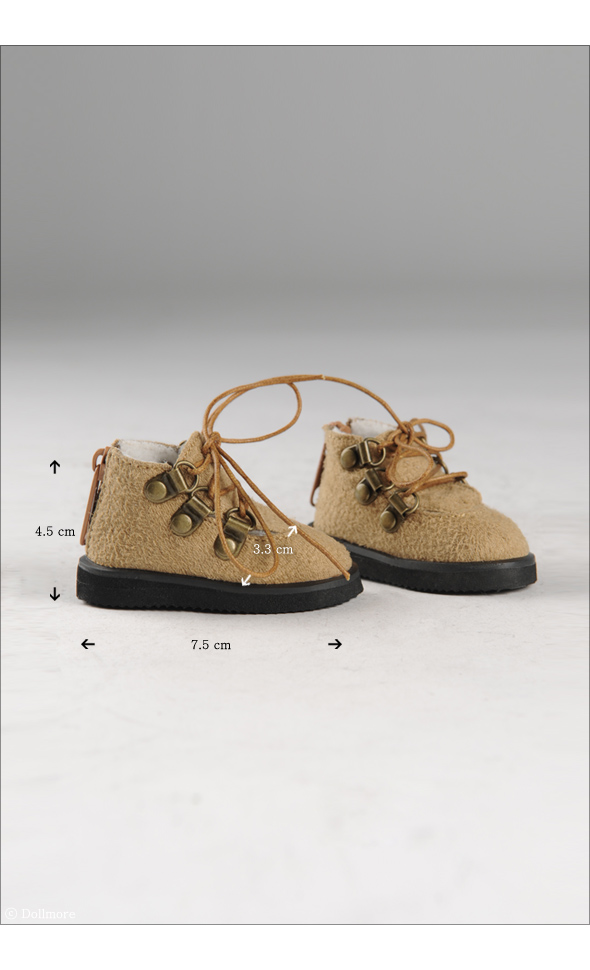 """MSD - Messo Shoes (Brown)"" of the ""DOLL MORE"", image 5."